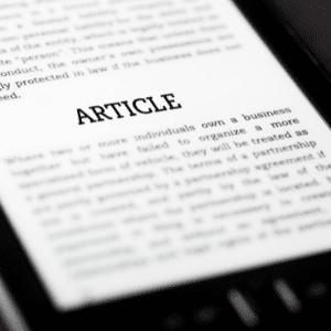 Access articles.